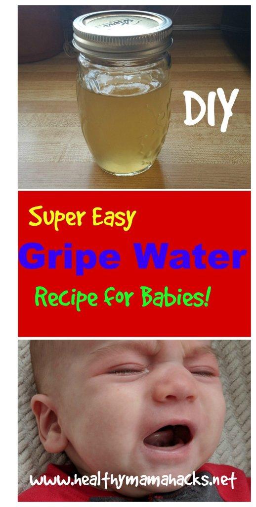 homemade gripe water recipe