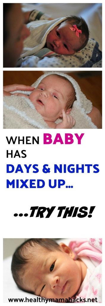Baby have days and nights mixed up? Try this easy fix!