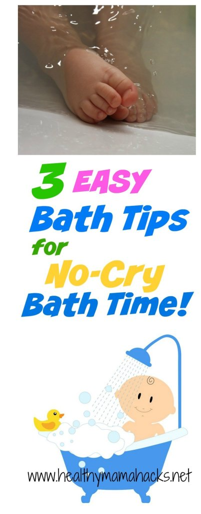 Easy Bath Tips for Baby that will keep your baby bath time calm and happy!