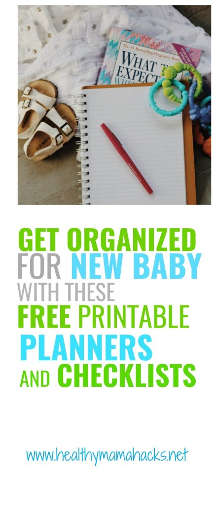 Planning for a new baby? Get organized with these FREE printable planning worksheets