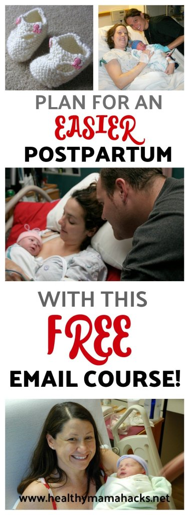 FREE Planning for Postpartum Email Course!