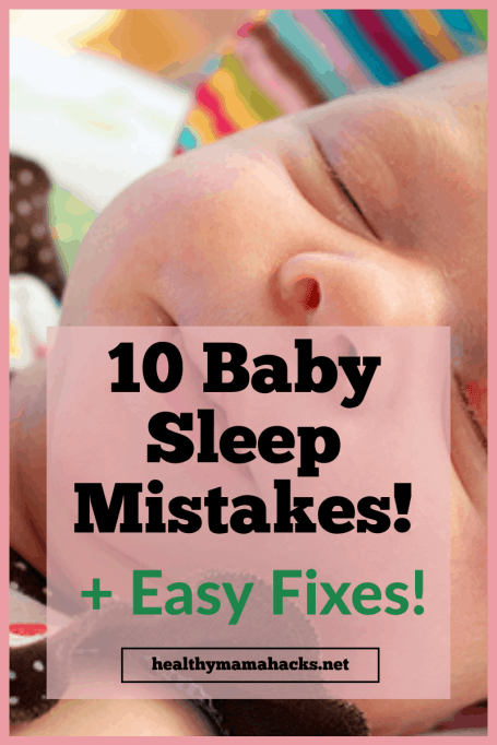 New Parent Baby Sleep Mistakes and how to fix them!