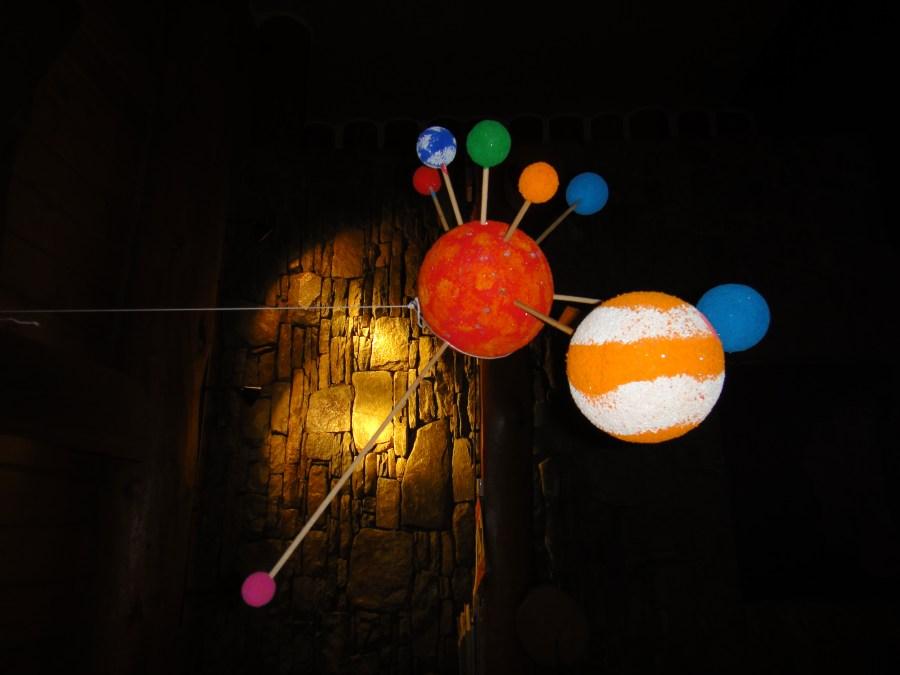 homemade solar system, space for kids, kids solar system ...