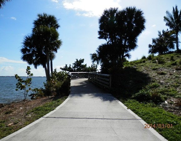 Jogging and Walking Path Along The Indian River