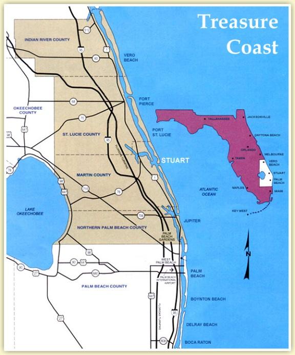 Treasure Coast Delivery Area