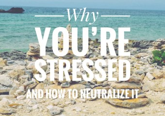 Stressed? How to Neutralize it