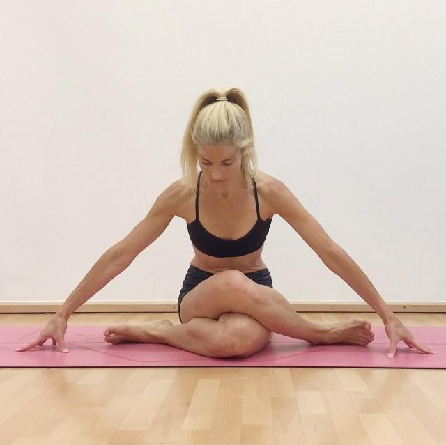 Shoe Lace yoga pose