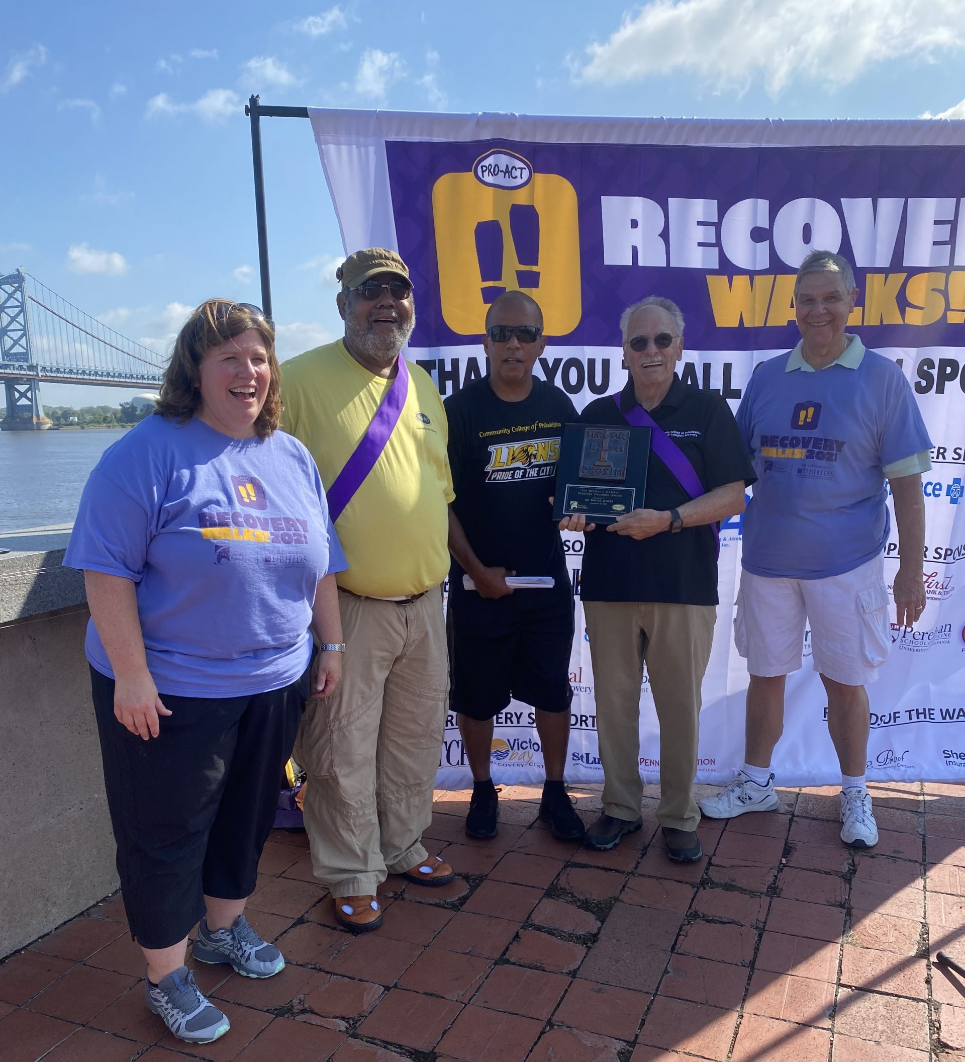 Recovery Walks 2021 Philadelphia