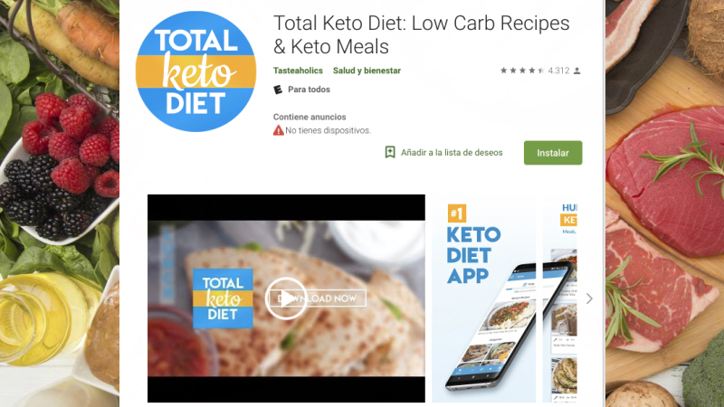 Top 5 Keto Diet Apps