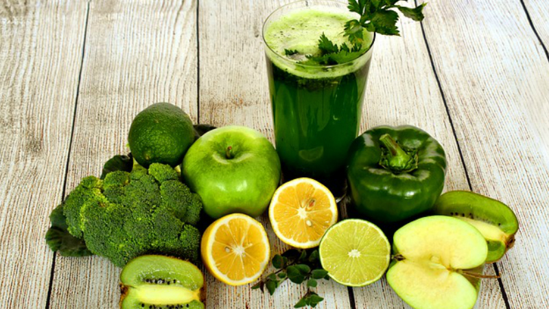 Juicearian: Drinking plenty of fresh fruit juices daily will cleanse your system