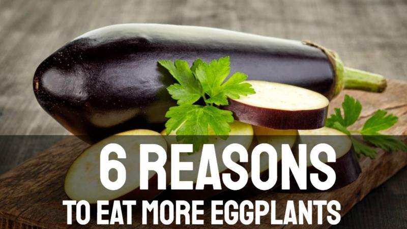 6 Healthy Reasons to Eat More Eggplants.
