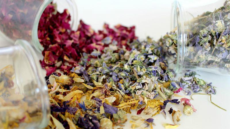 Make Your Own Herbal Bath Tea