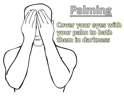 Palming -homeremediess