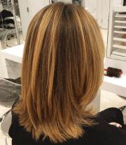 light medium layered haircuts