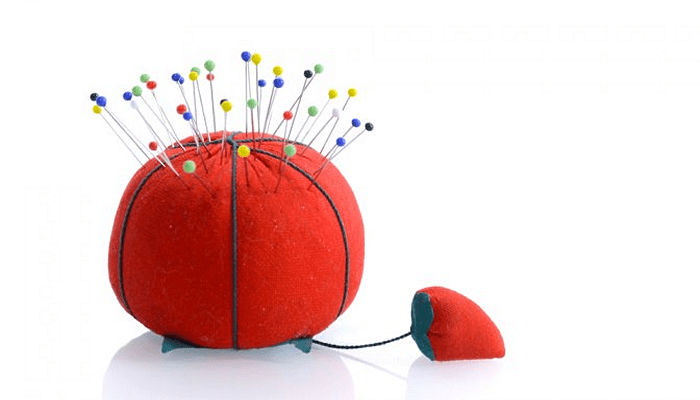 Just in Time: Susie & Her Pin Cushion