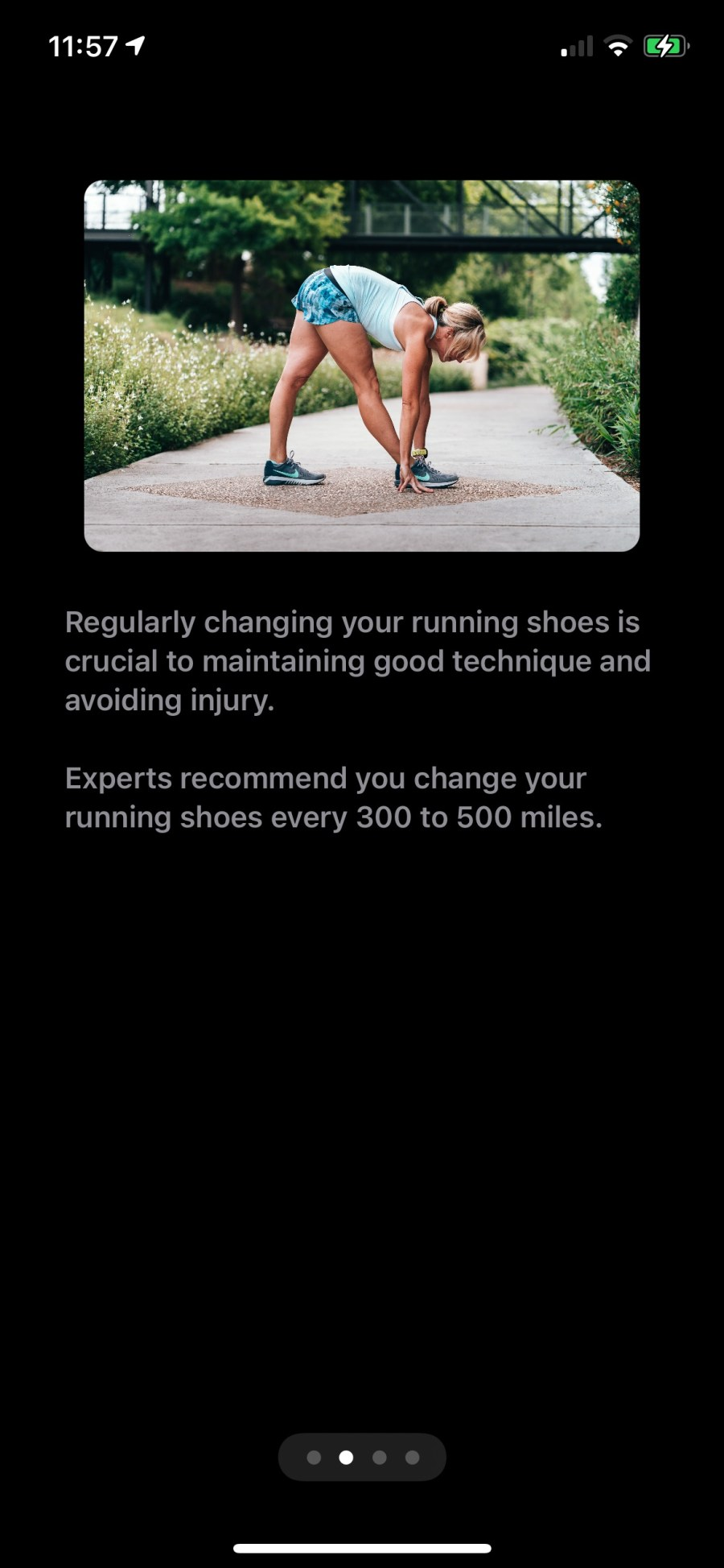 Regularly changing your running shoes is crucial to maintaining good technique and avoiding injury.