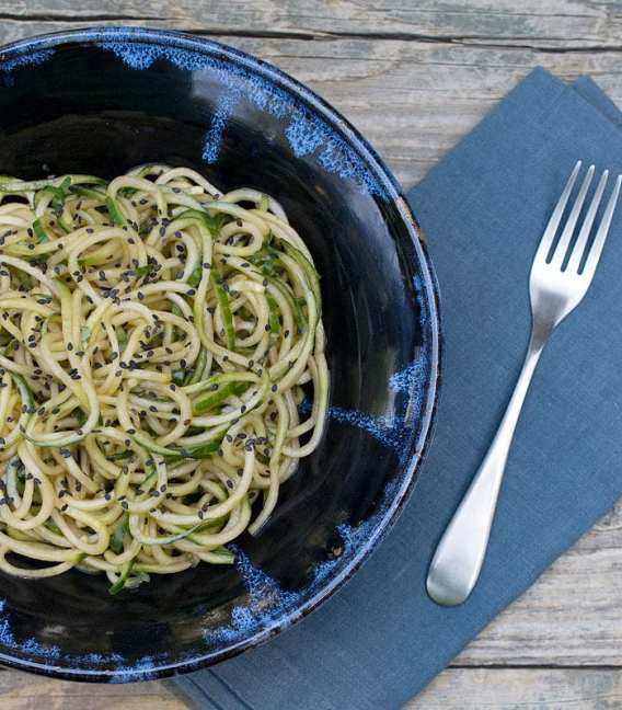 Super Easy Sesame Cucumber Noodles - PF Chang's Copycat