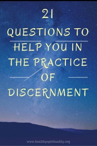 21 discernment questions