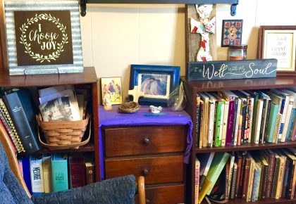 Lenten Sacred space