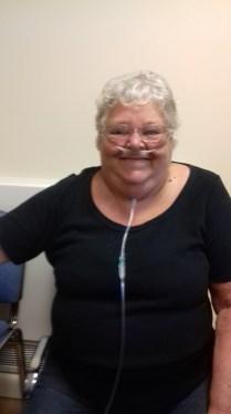 Moira Guy, 65, at Telford and Wrekin's stop smoking service Quit51