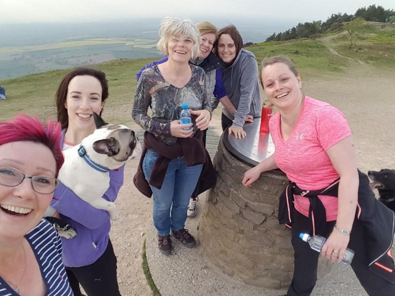 Team Wrekin Walk1