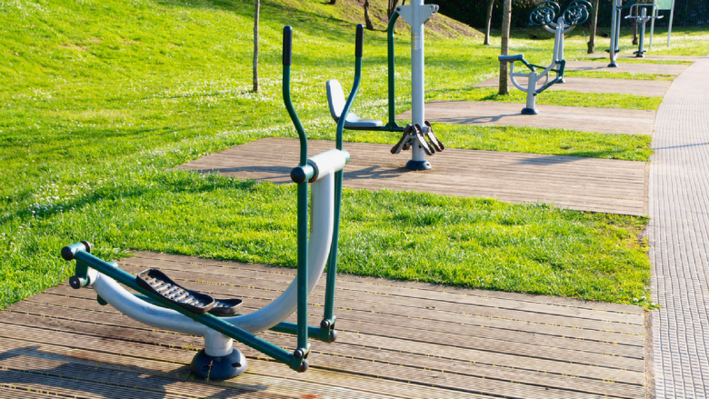 Telford outdoor gym