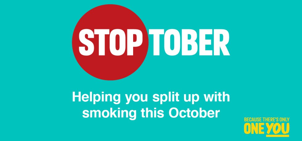 Stoptober - Helping you split up with smoking this October