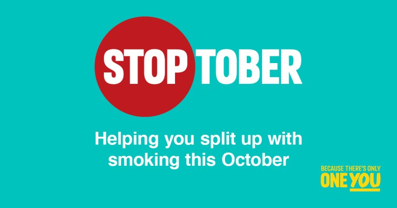 Stoptober - Helping you split up with smoking this October