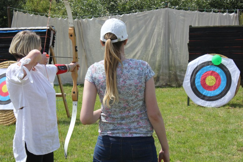 Archery in Let's Get Telford Active