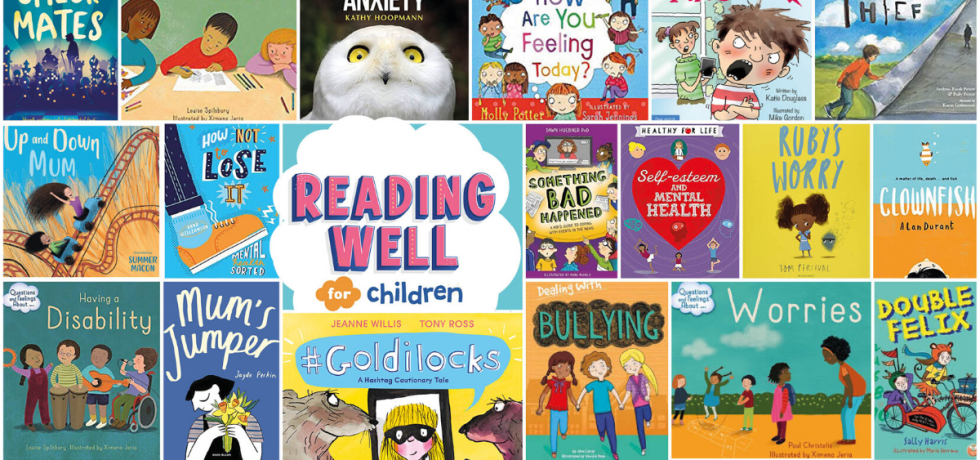Books available in Telford and Wrekin libraries that support children and improve their wellbeing