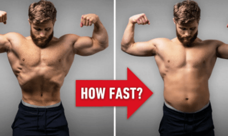 how to lose muscle