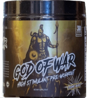 god of war pre workout