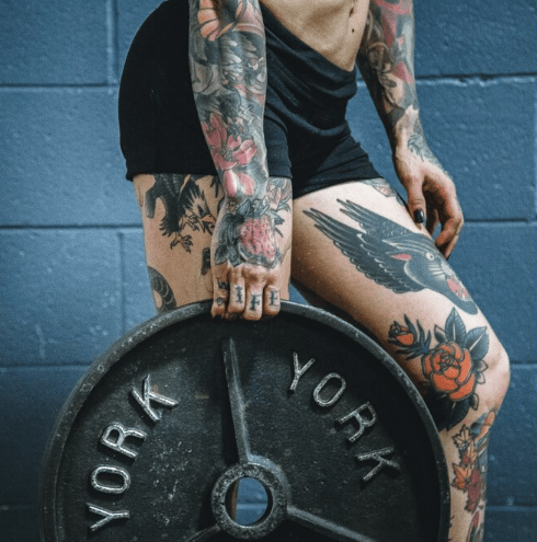 can you workout after getting a tattoo