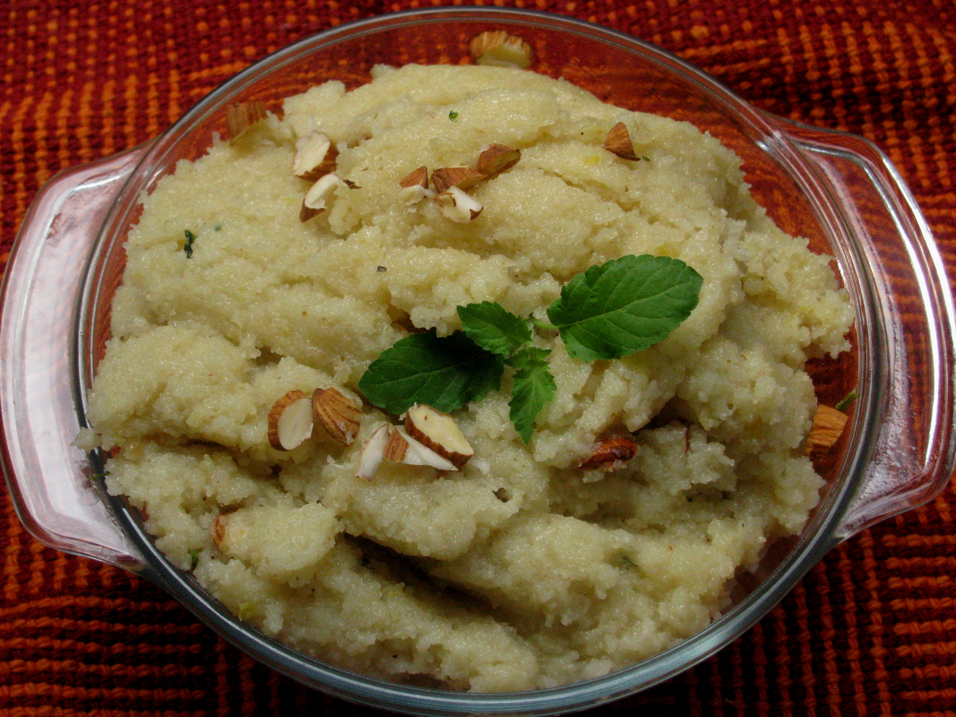 Rava Cake Recipe In Marathi Video: Satyanarayan Pooja Prasad Sheera / Halwa
