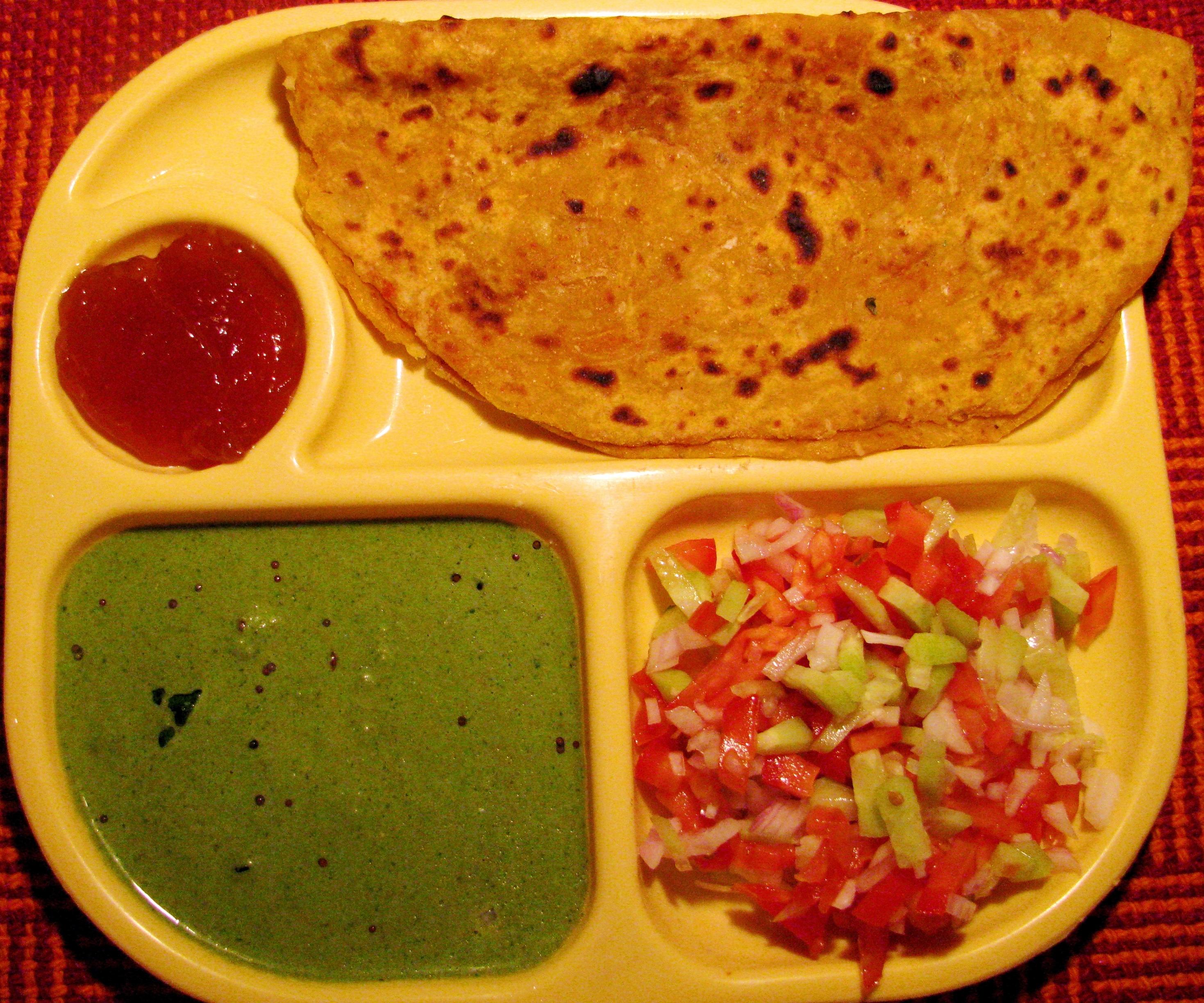 Mooli ka Paratha Recipe / Radish Paratha   Healthy Veg Recipes