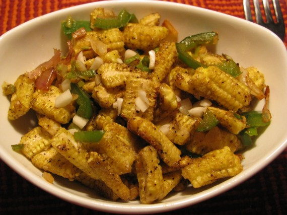 healthy baby corn recipe for snacks