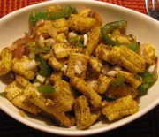 baby corn manchurian recipe in microwave