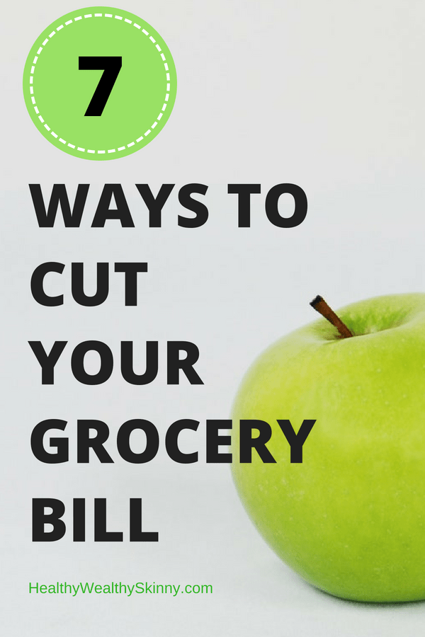 7 Ways to Cut Your Grocery Bill