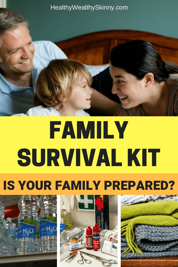 Family Survival Kit - Is Your Family Prepared for an Emergency