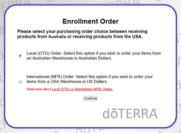 Local OTG Order