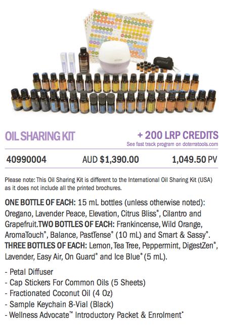Oil Sharing Kit
