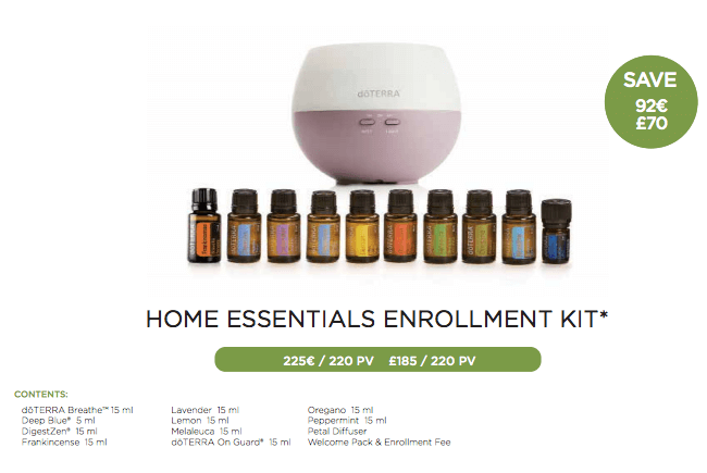 doTERRA UK Enrolment Kits