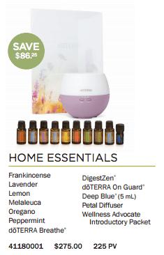 doTERRA USA Home Essentials Kit
