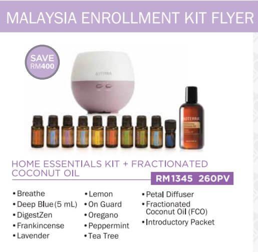 doterra malaysia home essentials