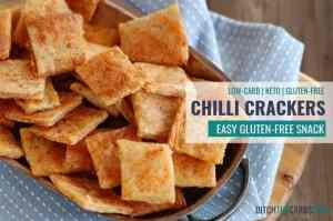 Easy Low-Carb Chilli Crackers - Gluten-Free