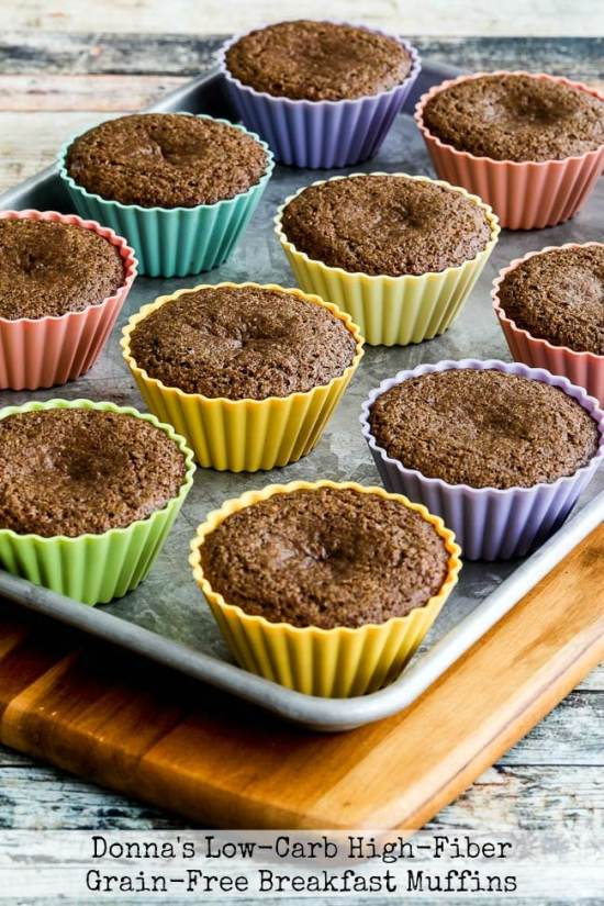 Donna's Low-Carb High-Fiber Grain-Free Breakfast Muffins title photo