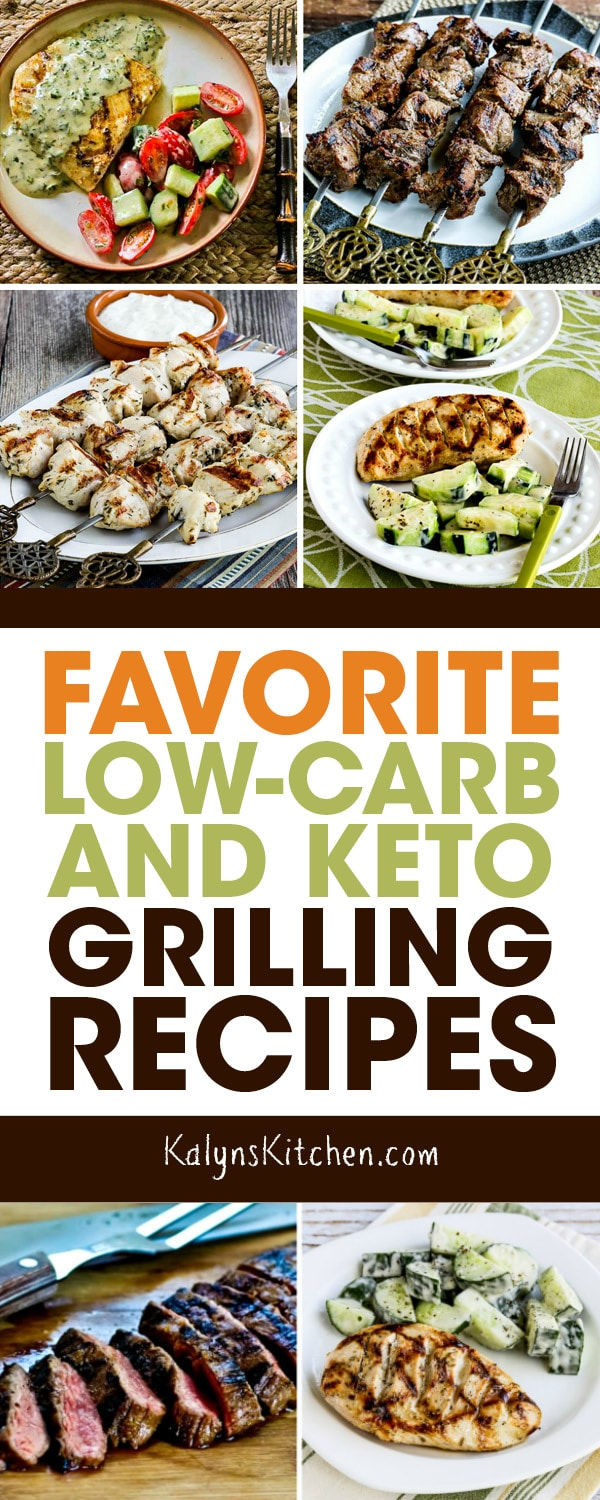 Pinterest image of Favorite Low-Carb and Keto Grilling Recipes