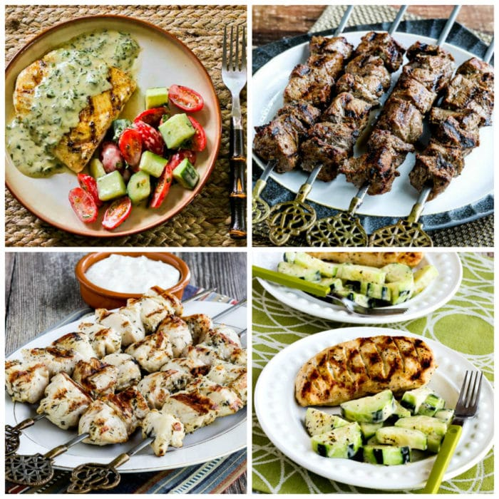 Favorite Low-Carb and Keto Grilling Recipes photo collage