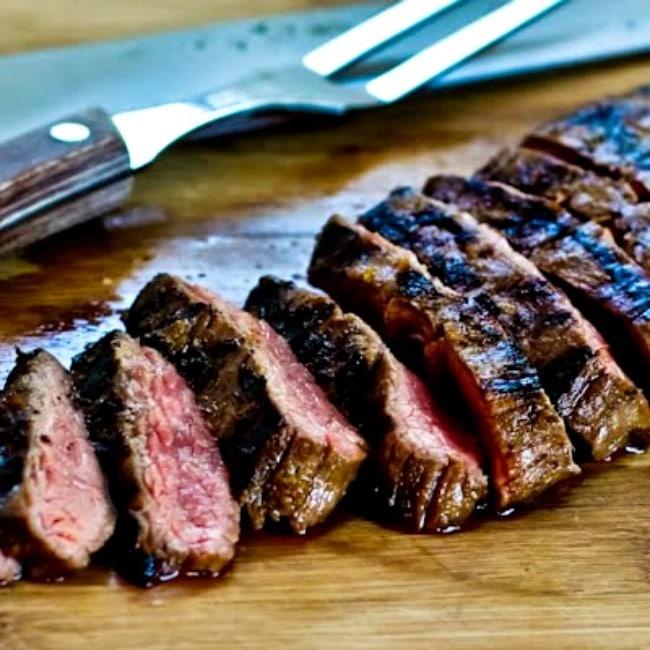 Grilled Cuban Flank Steak