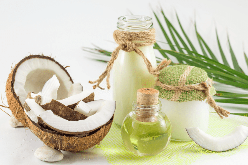 use coconut oil on your face